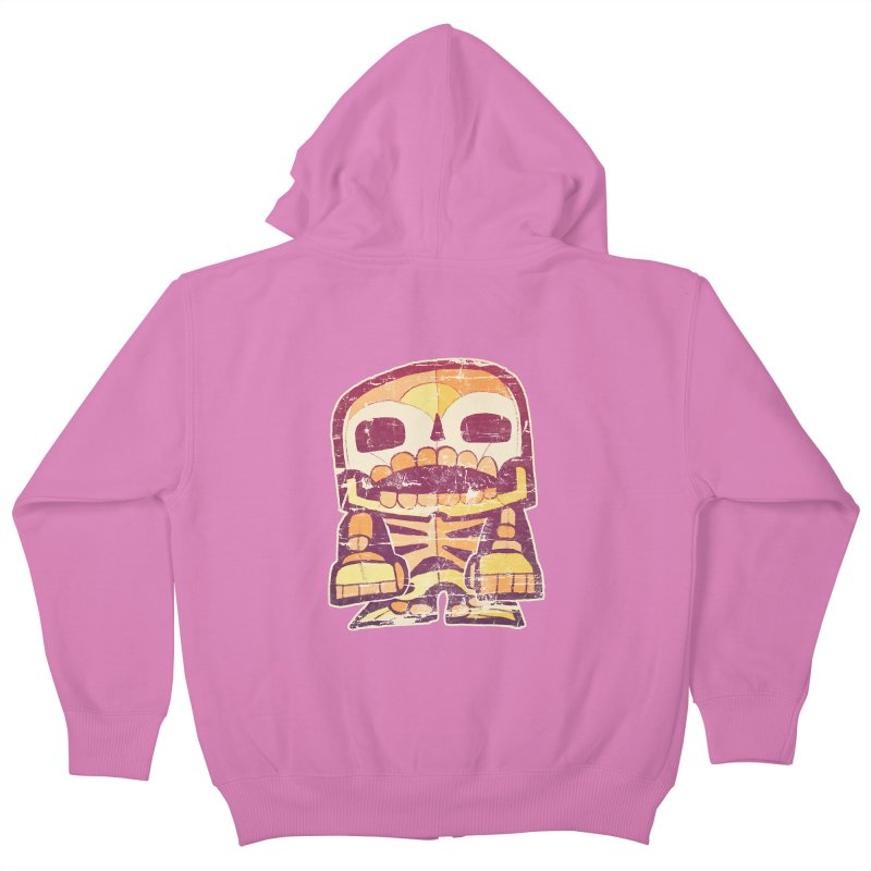 Smile Kids Zip-Up Hoody by rageforst's Artist Shop
