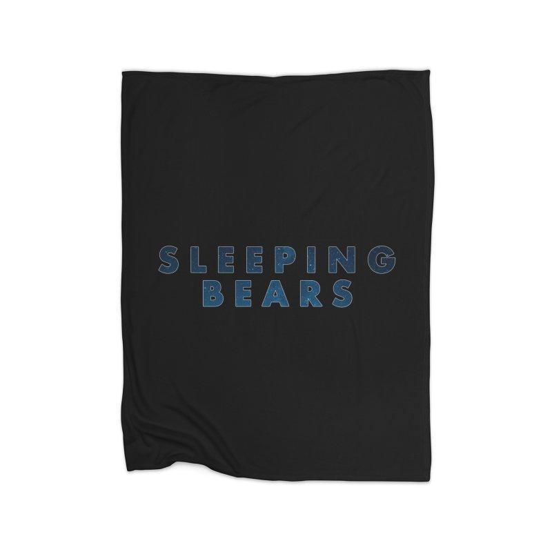 Sleeping Bears Home Blanket by raggedrec's Shop