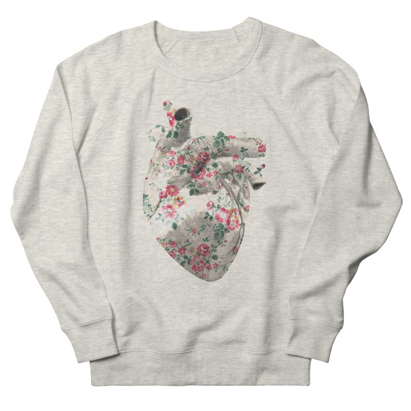 Chioo's Heart Men's French Terry Sweatshirt by Rahimiha's Shop