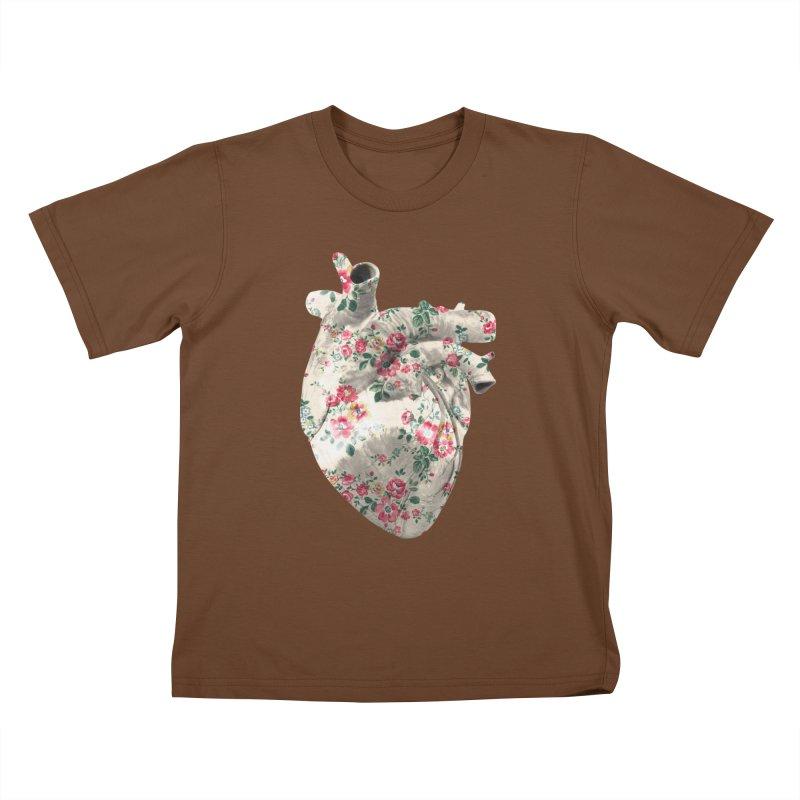 Chioo's Heart Kids T-Shirt by Rahimiha's Shop
