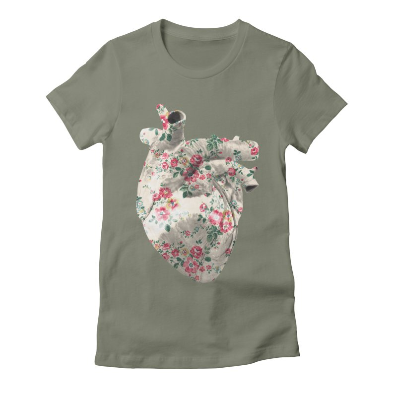 Chioo's Heart Women's Fitted T-Shirt by Rahimiha's Shop