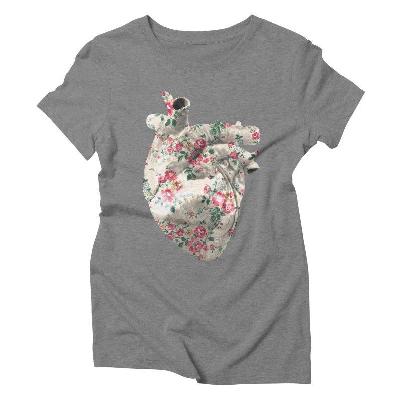 Chioo's Heart Women's Triblend T-Shirt by Rahimiha's Shop