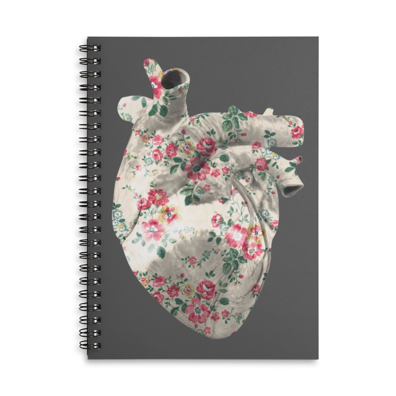 Chioo's Heart Accessories Lined Spiral Notebook by Rahimiha's Shop