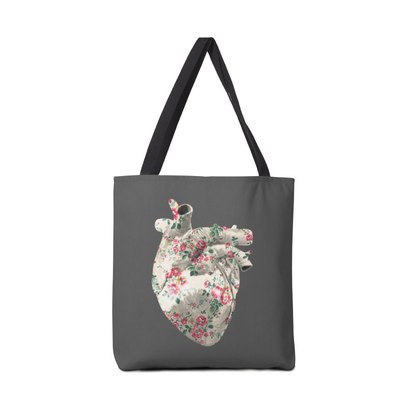 Chioo's Heart in Tote Bag by Rahimiha's Shop