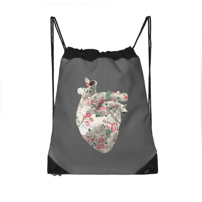 Chioo's Heart Accessories Drawstring Bag Bag by Rahimiha's Shop