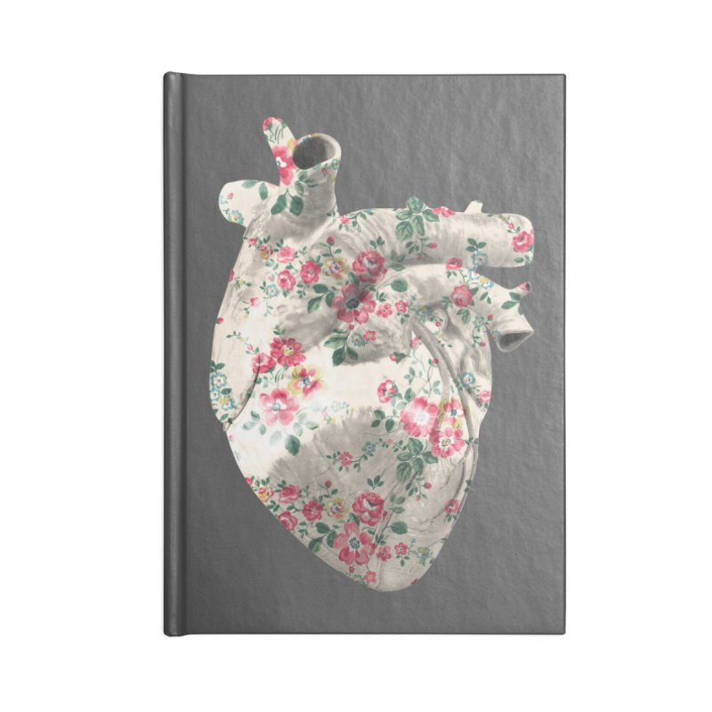 Chioo's Heart Accessories Blank Journal Notebook by Rahimiha's Shop