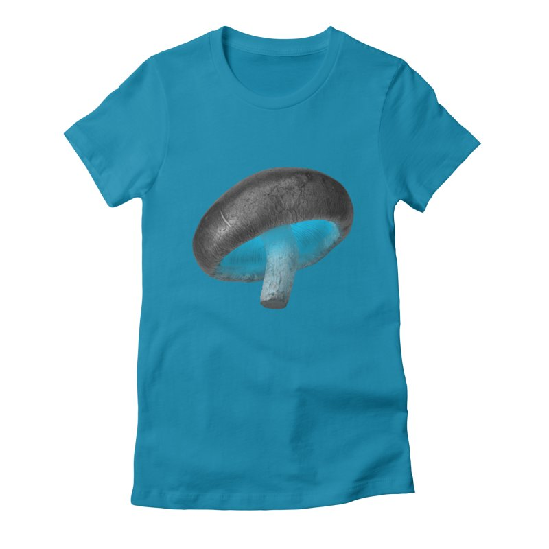 Magic Mushroom Women's T-Shirt by Rahimiha's Shop
