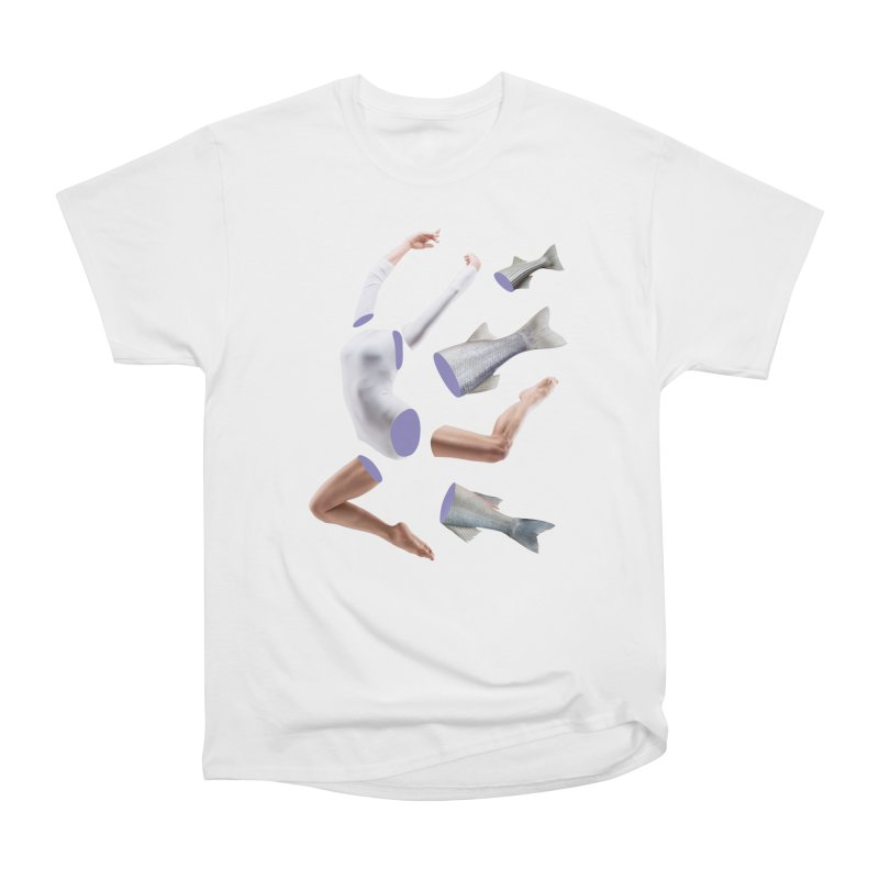 Chopped Ballet in Women's Heavyweight Unisex T-Shirt White by Rahimiha's Shop