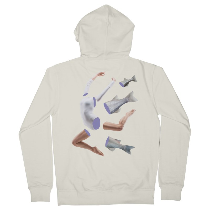 Chopped Ballet Women's French Terry Zip-Up Hoody by Rahimiha's Shop