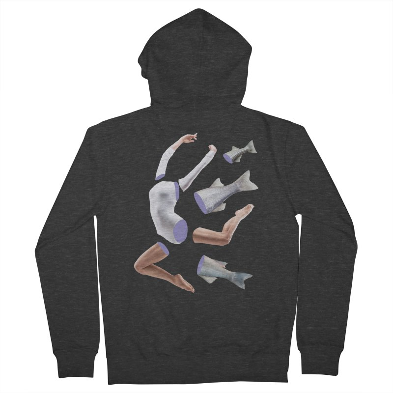 Chopped Ballet Men's French Terry Zip-Up Hoody by Rahimiha's Shop