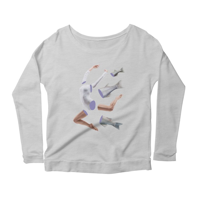 Chopped Ballet Women's Longsleeve Scoopneck  by Rahimiha's Shop