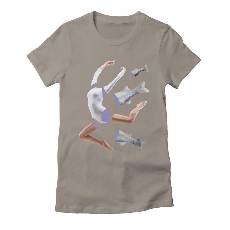 Chopped Ballet Women's Fitted T-Shirt by Rahimiha's Shop