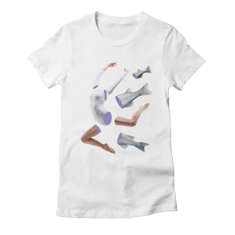 Chopped Ballet Women's Fitted T-Shirt by Rahimiha's Shop