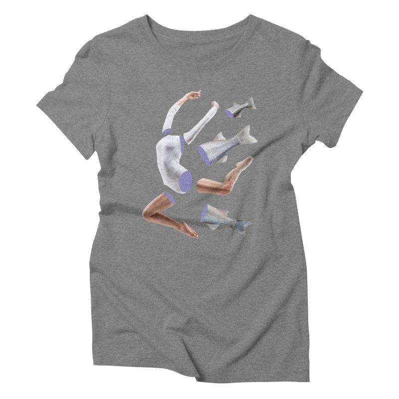 Chopped Ballet Women's Triblend T-Shirt by Rahimiha's Shop