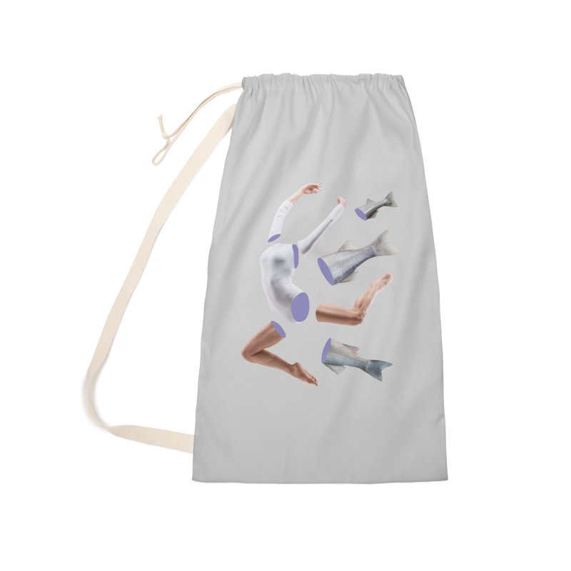 Chopped Ballet Accessories Laundry Bag Bag by Rahimiha's Shop