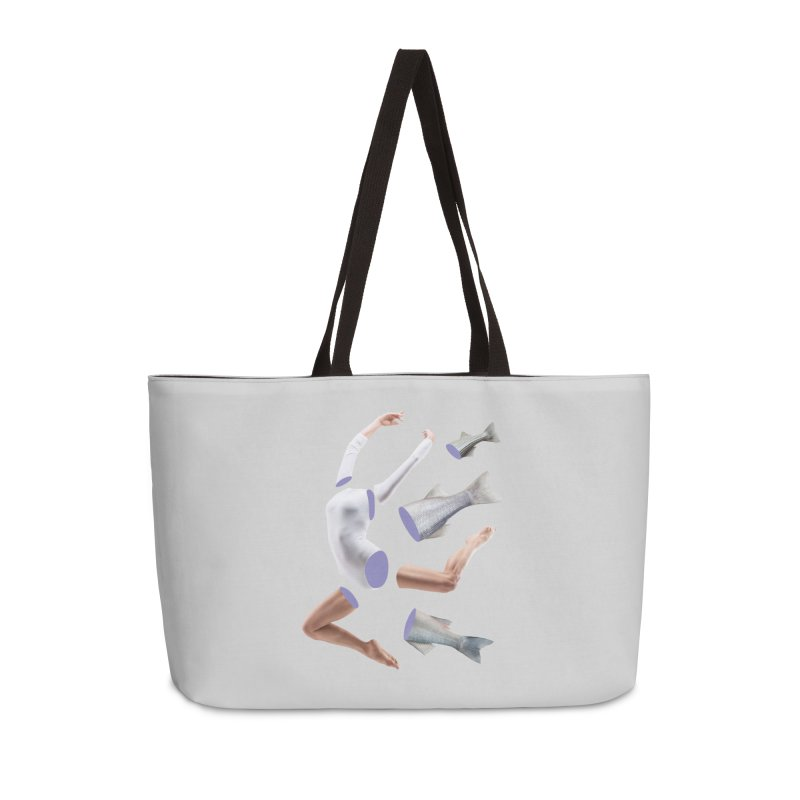 Chopped Ballet Accessories Weekender Bag Bag by Rahimiha's Shop