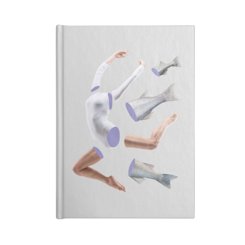 Chopped Ballet Accessories Blank Journal Notebook by Rahimiha's Shop