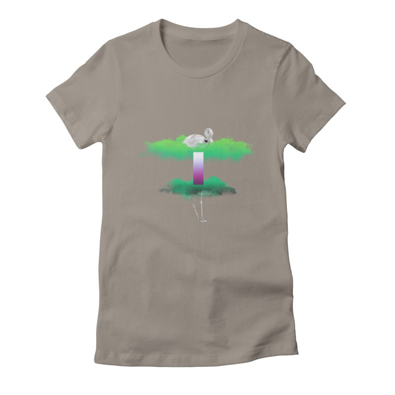 Green Clouds Women's T-Shirt by Rahimiha's Shop