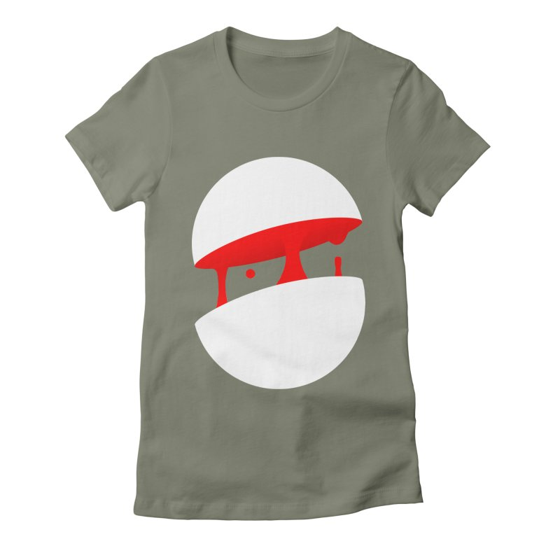 Bloodsphere Women's Fitted T-Shirt by Rahimiha's Shop