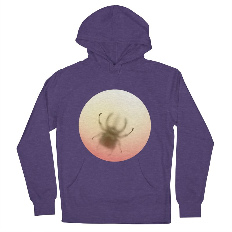 Insecta in Women's French Terry Pullover Hoody Heather Purple by Rahimiha's Shop
