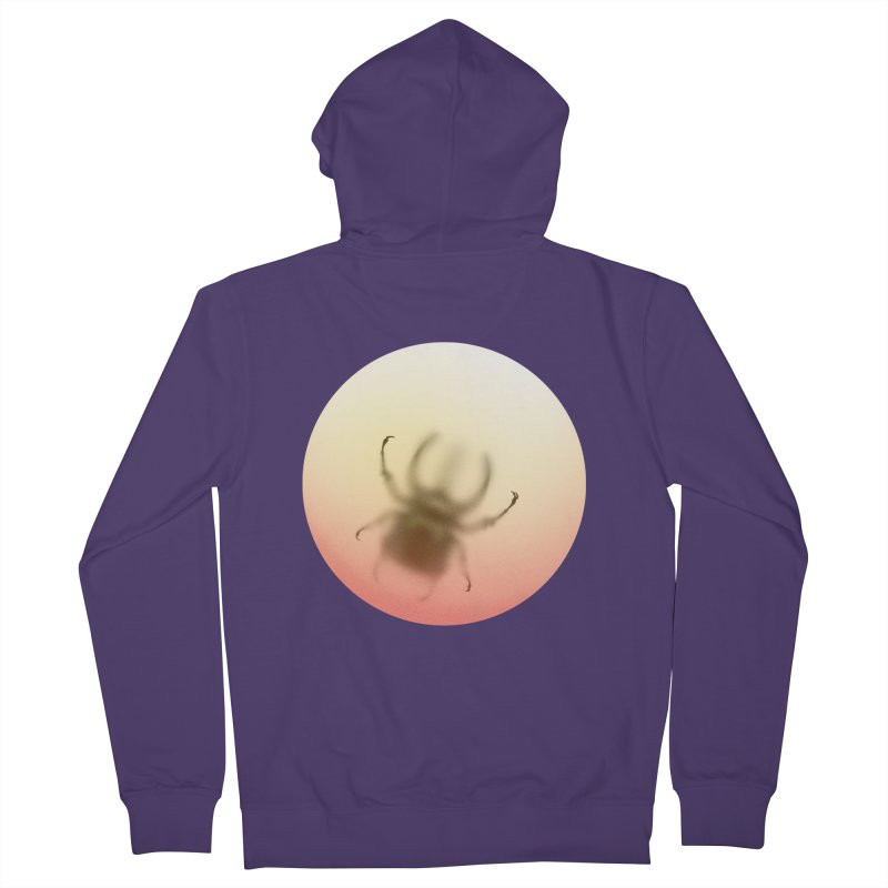 Insecta Women's French Terry Zip-Up Hoody by Rahimiha's Shop