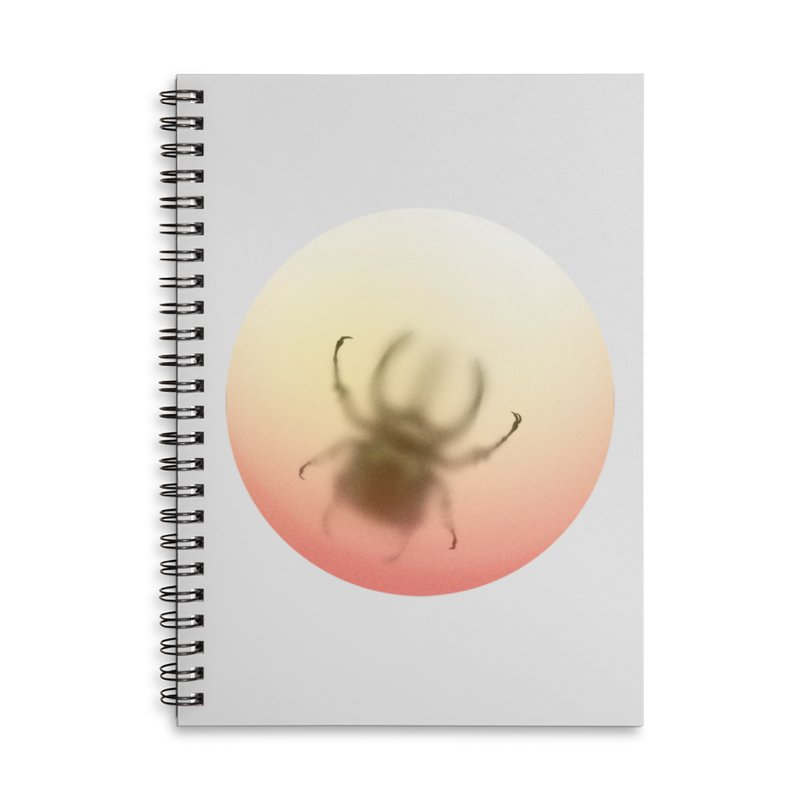 Insecta Accessories Lined Spiral Notebook by Rahimiha's Shop