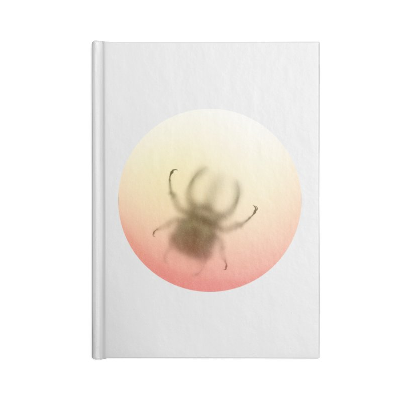 Insecta in Blank Journal Notebook by Rahimiha's Shop