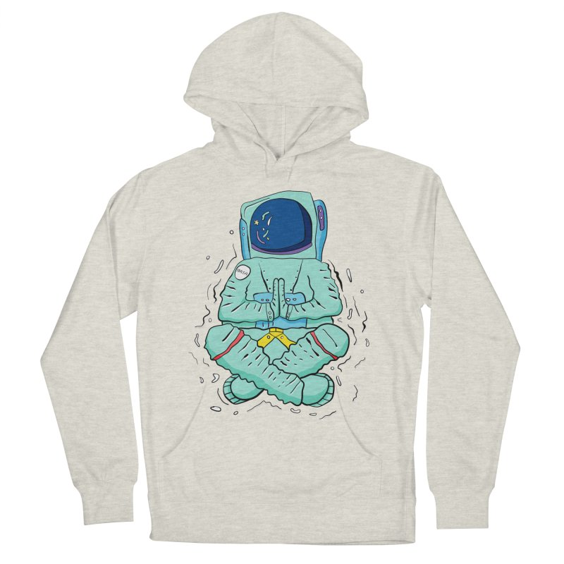 Yogi Astronaut Women's French Terry Pullover Hoody by Rahimiha's Shop