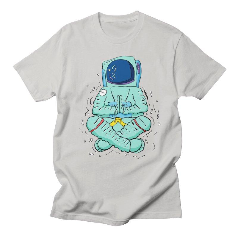 Yogi Astronaut Men's T-Shirt by Rahimiha's Shop