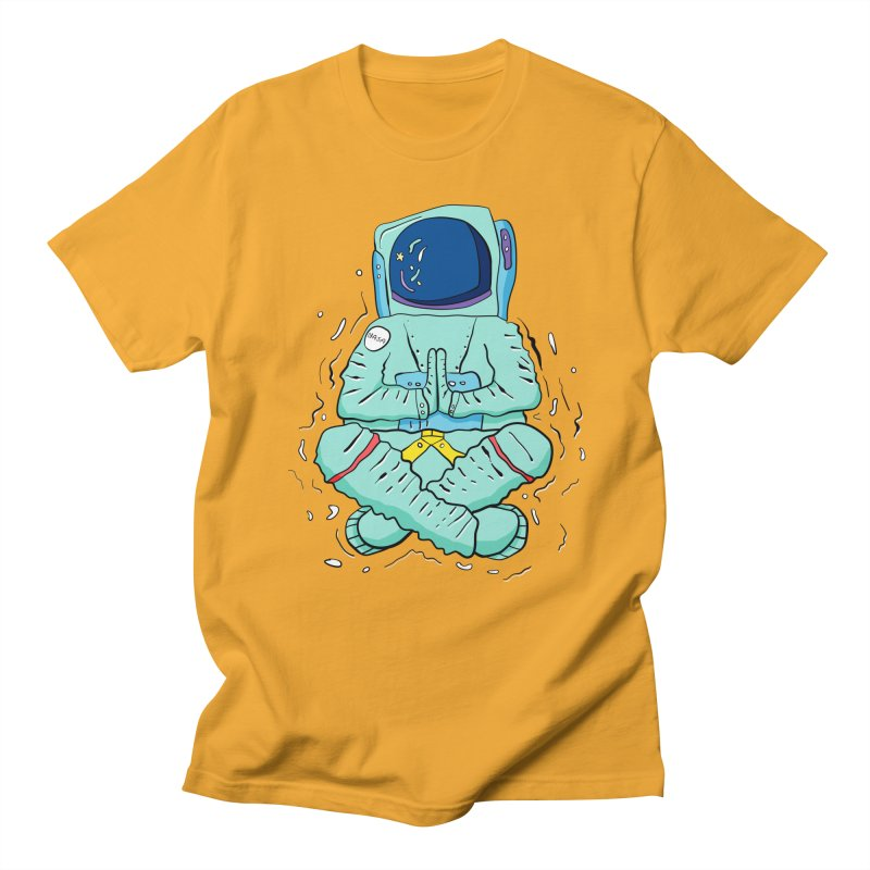Yogi Astronaut Men's Regular T-Shirt by Rahimiha's Shop