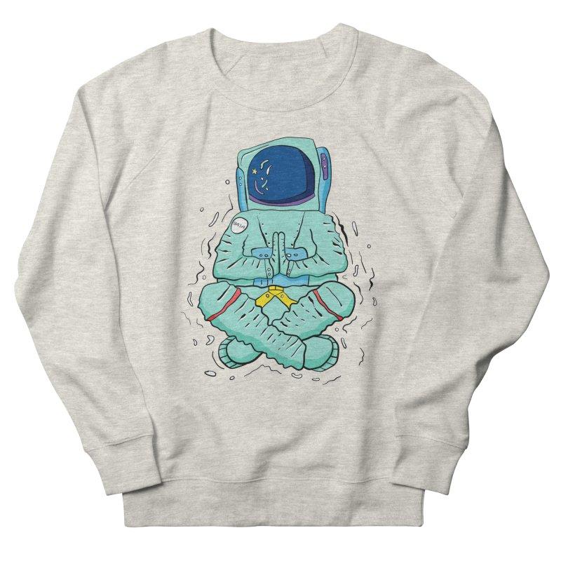 Yogi Astronaut Women's French Terry Sweatshirt by Rahimiha's Shop