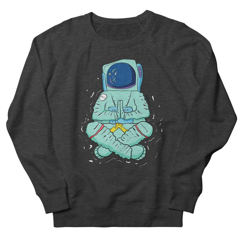 Yogi Astronaut Men's French Terry Sweatshirt by Rahimiha's Shop