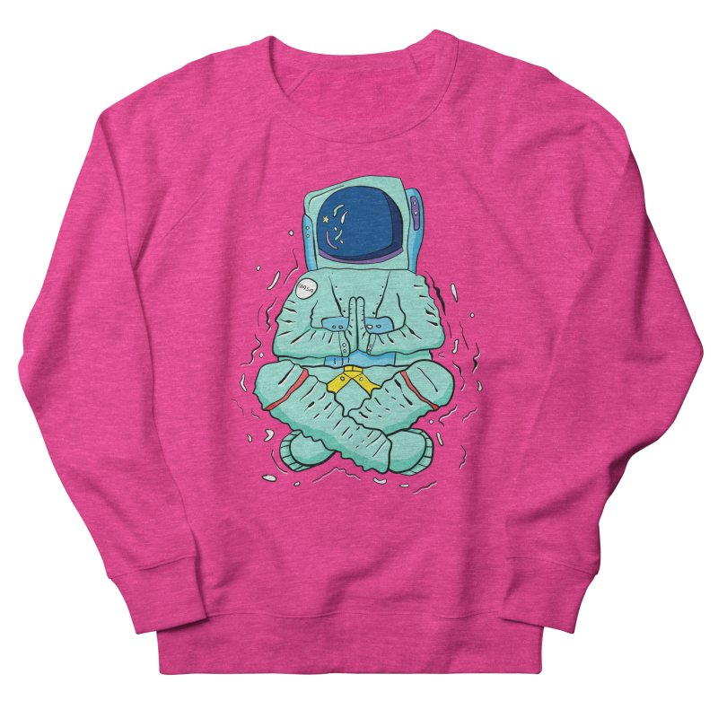 Yogi Astronaut Men's French Terry Sweatshirt by Rahimiha's Shop