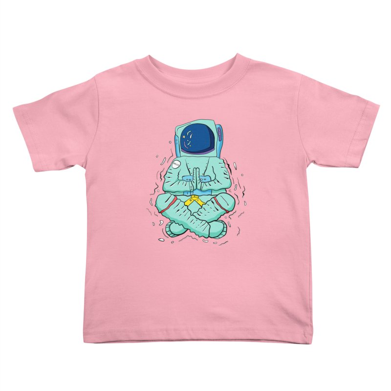 Yogi Astronaut Kids Toddler T-Shirt by Rahimiha's Shop