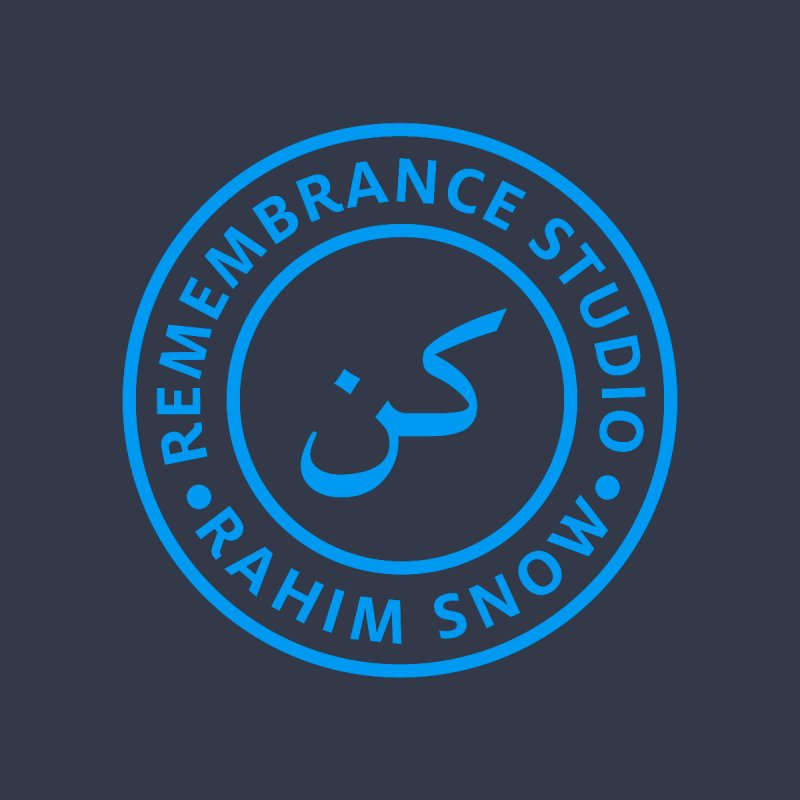 Remembrance Studio (blue) by Rahim Snow