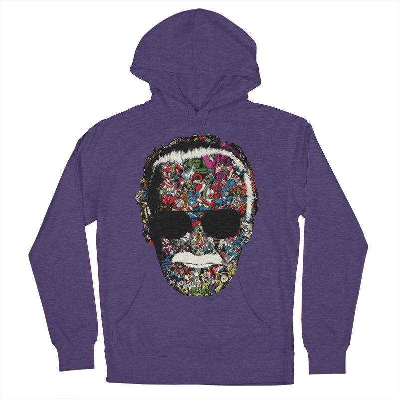 Man of many faces Men's Pullover Hoody by raid71's Shop