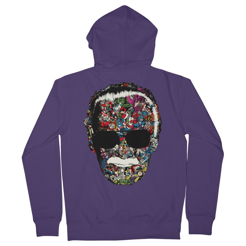 Man of many faces Women's Zip-Up Hoody by raid71's Shop