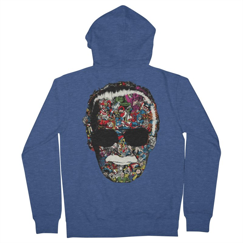 Man of many faces Men's Zip-Up Hoody by raid71's Shop