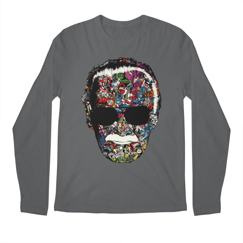 Man of many faces Men's Longsleeve T-Shirt by raid71's Shop