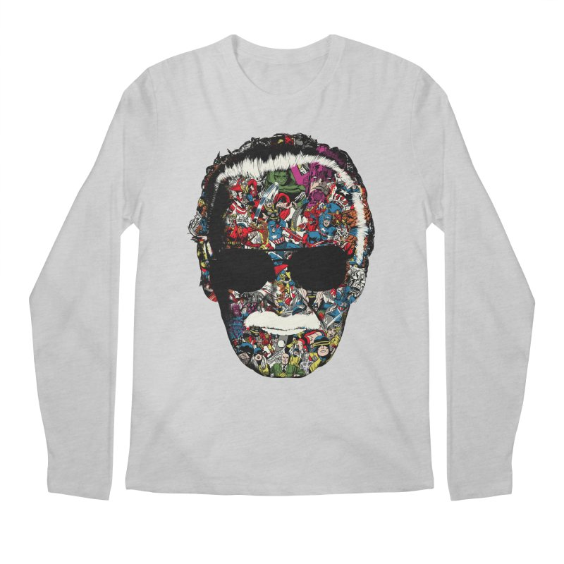 Man of many faces Men's Longsleeve T-Shirt by raid71's Shop