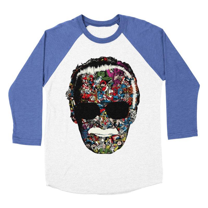 Man of many faces Women's Baseball Triblend T-Shirt by raid71's Shop