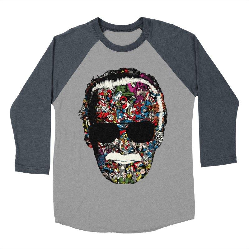 Man of many faces Men's Baseball Triblend T-Shirt by raid71's Shop