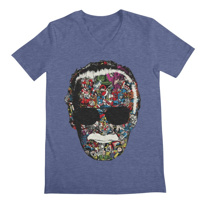 Man of many faces Men's V-Neck by raid71's Shop