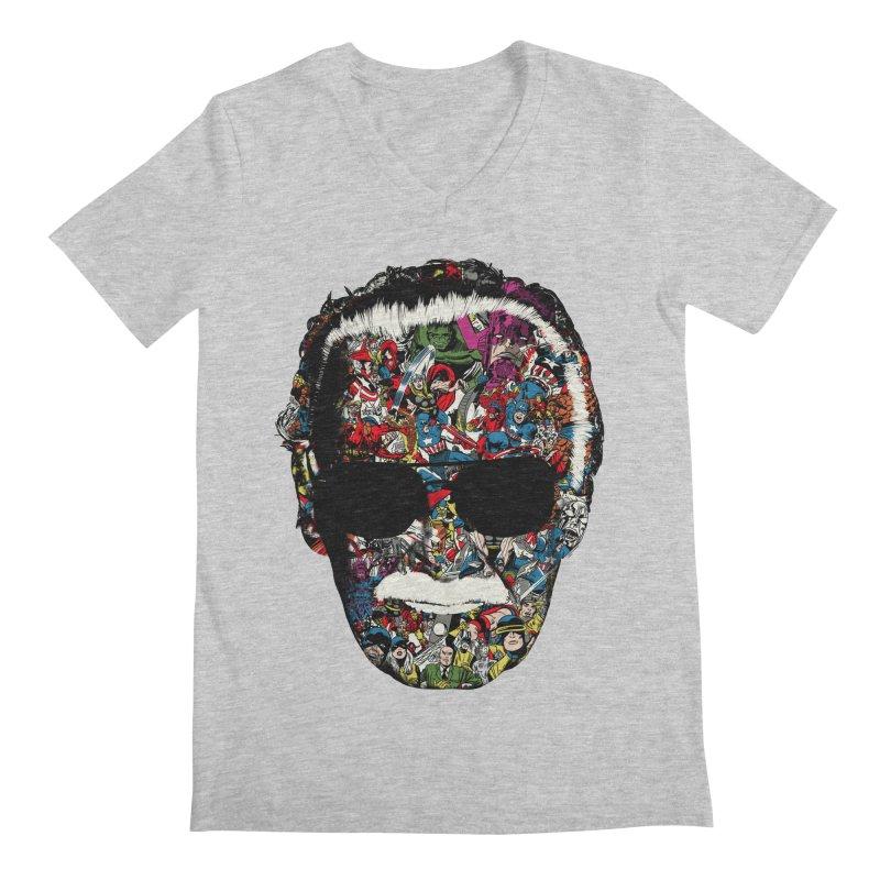 Man of many faces Men's V-Neck by raid71's Shop
