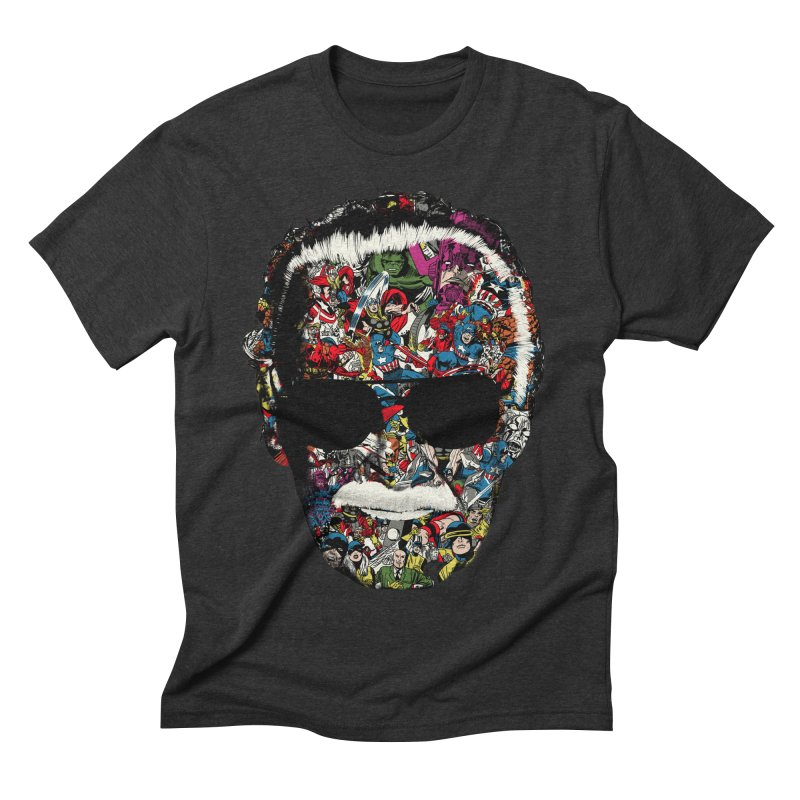 Man of many faces Men's Triblend T-shirt by raid71's Shop