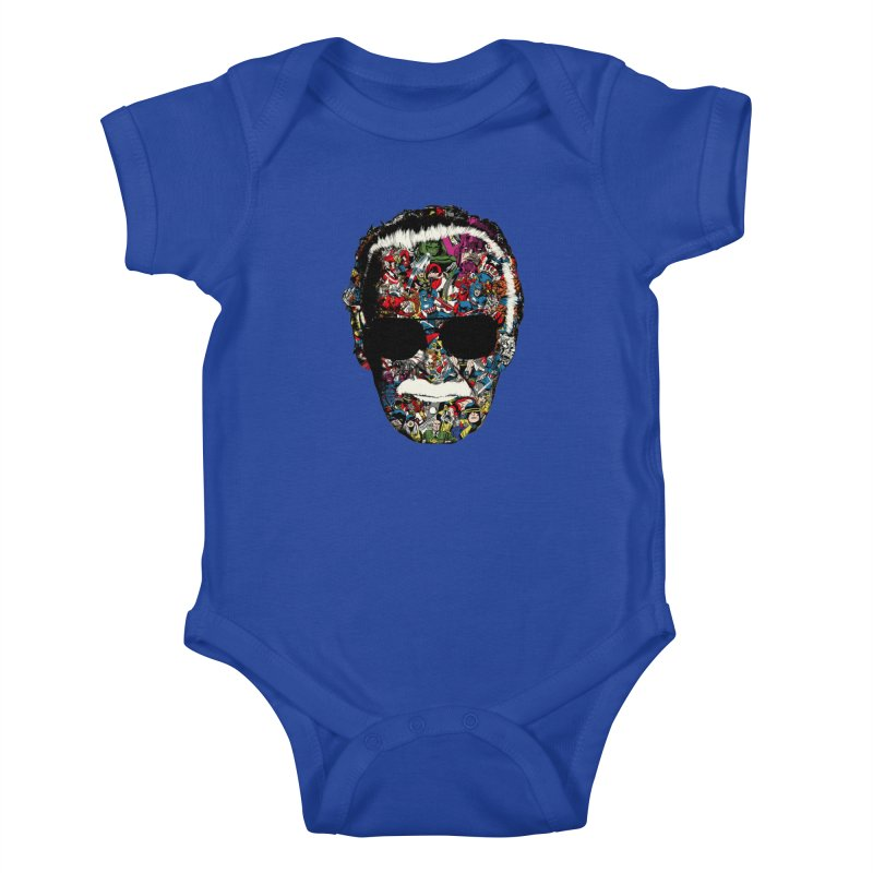 Man of many faces Kids Baby Bodysuit by raid71's Shop