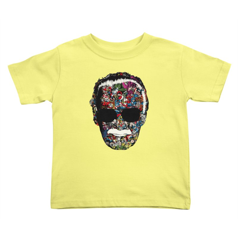 Man of many faces Kids Toddler T-Shirt by raid71's Shop
