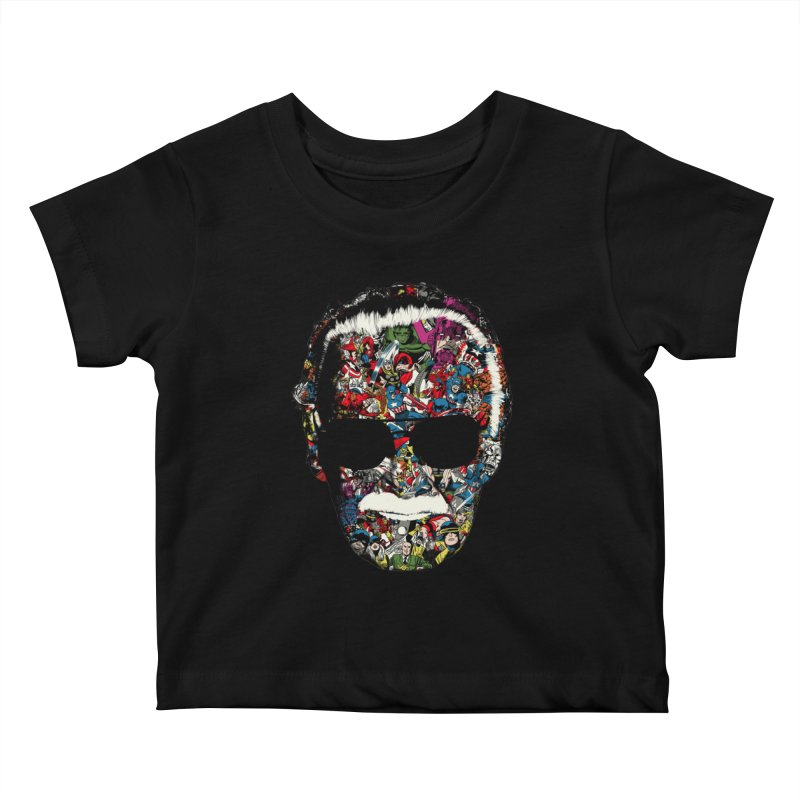 Man of many faces Kids Baby T-Shirt by raid71's Shop