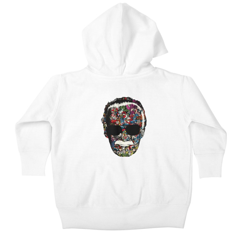 Man of many faces Kids Baby Zip-Up Hoody by raid71's Shop