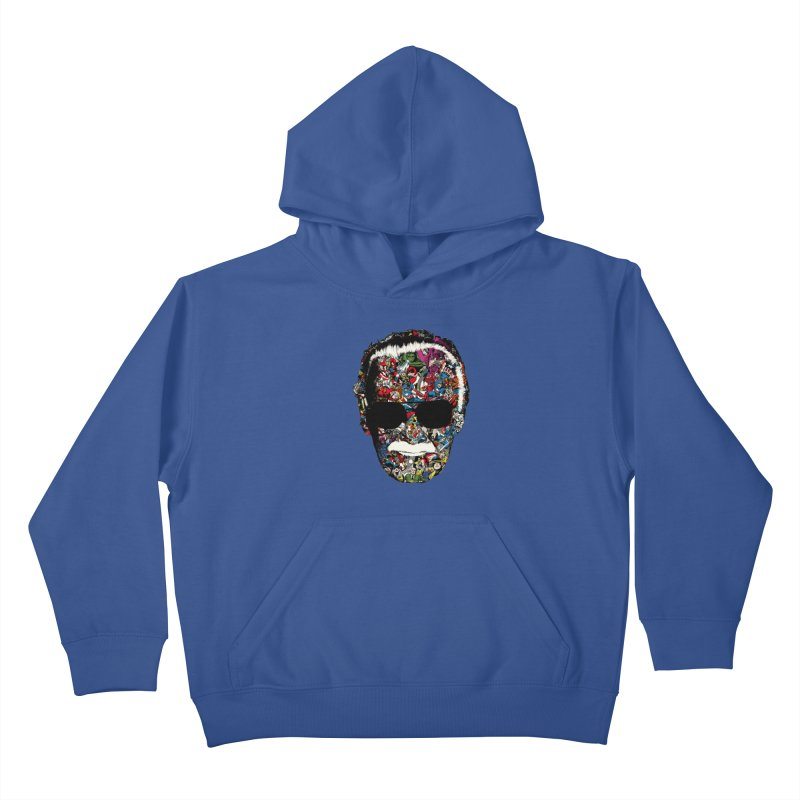 Man of many faces Kids Pullover Hoody by raid71's Shop